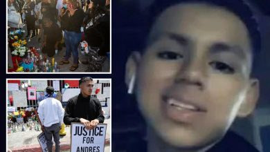 Photo of Protesters march over loss of life of Latino safety guard, 18, killed by cop as household demand investigation into 'cover-up'