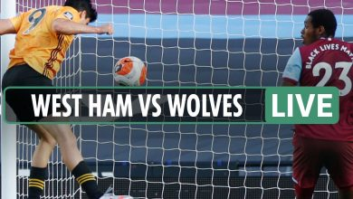 Photo of West Ham 0-2 Wolves LIVE REACTION: Jimenez and Neto heading in the right direction for guests as Hammers stay deep into relegation battle