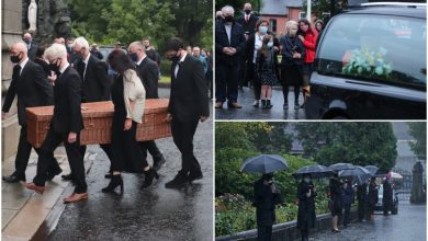 Photo of John Hume lifeless – Former SDLP chief makes manner residence to Derry for closing time as flags at half mast round Eire