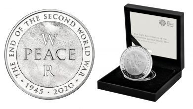 Photo of Royal Mint launch new commemorative £5 coin marking 75th anniversary of the tip of WW2
