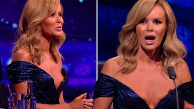 Photo of Amanda Holden's low-cut BGT gown that sparked claims you possibly can see her nipples sparks 100s of viewer complaints