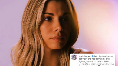 Photo of Christina Perri reveals she 'misplaced' child daughter two weeks after singer was hospitalized following miscarriage