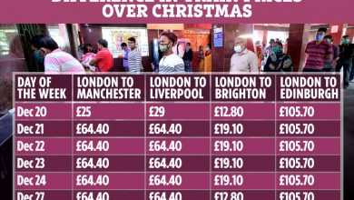 Photo of Practice and automotive rent costs TRIPLE after Christmas bubble guidelines revealed