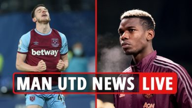 Photo of 1pm Man Utd switch information LIVE: Pogba to go away in summer time, Declan Rice eyed, Rooney retires REACTION, Brooks LATEST