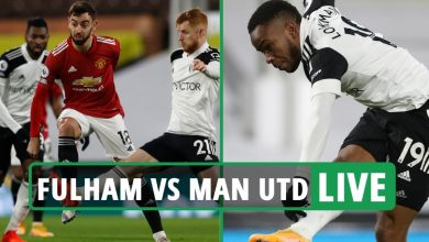 Photo of Fulham vs Man Utd LIVE: Stream FREE, TV channel as Cavani LEVELS it for Utd after Lookman early opener – newest