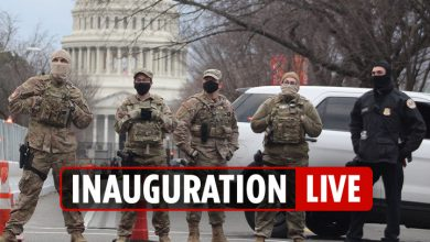 Photo of Inauguration Day 2021 LIVE – Nuclear codes CHAOS as Trump leaves DC early forward of Biden's presidential swearing-in