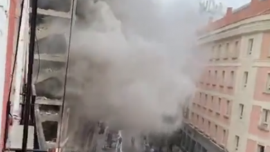 Photo of Madrid Explosion LIVE – Deaths reported as large blast destroys constructing in centre of Spanish capital