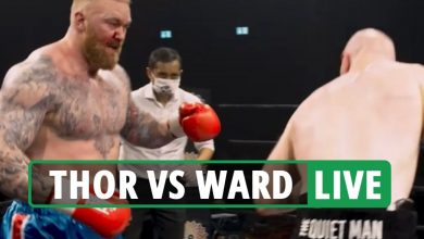 Photo of Thor Bjornsson vs Steven Ward LIVE RESULT: Thor vows to KNOCK OUT Eddie Corridor after making boxing debut – newest response