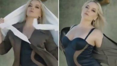 Photo of US porn star Alexis Texas sparks fury in Tehran after stripping off in Iranian music video & hardliners need her banned