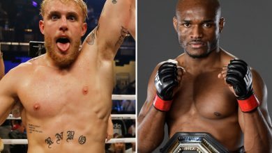 Photo of Jake Paul reveals there are 'conversations taking place' to combat UFC champion Kamaru Usman and calls out Daniel Cormier