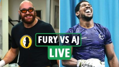 Photo of Tyson Fury vs Anthony Joshua LIVE updates: Struggle date CONFIRMED, Saudi Arabia to host, Fury trains in Miami – newest