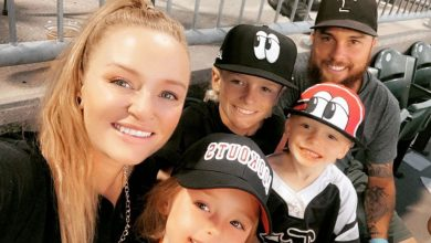 Photo of Teen Mother followers declare Maci Bookout has 'an excessive amount of Botox and filler' in new household picture with husband Taylor McKinney & youngsters