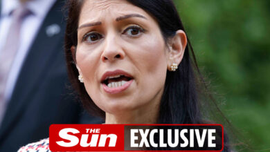 Photo of Priti Patel touring Greece to attempt to discover a resolution to overseas migrant-smuggling gangs